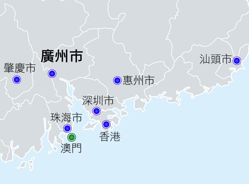 文輝據點地圖
